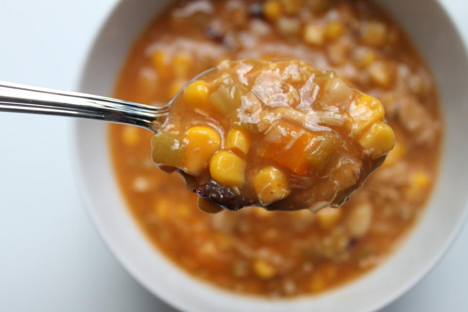 Chicken Tomatillo Bean Chili