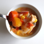 Gluten Free, Dairy Free, Soy Free, Nut Free, Allergen friendly harvest Veggie soup made with root vegetables